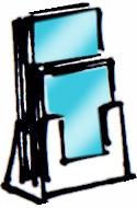 Επιτραπέζια Σταντ Εντύπων