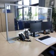 """Προστατευτικό Γραφείου """"Desk"""" με διάφανο Banner"""