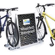 Σταντ Ποδηλάτων με Snap Frame Αλουμινίου - 2 Θέσεις Στάθμευσης