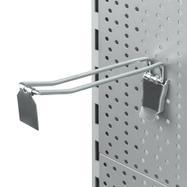 Διπλό Άγκιστρο Διάτρητου Πάνελ με Συσκευή Κλειδώματος