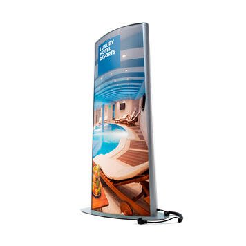 """Stand Display LED """"Curved"""""""