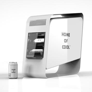 """Ψυγείο Αναψυκτικών""""Home of Cool"""""""