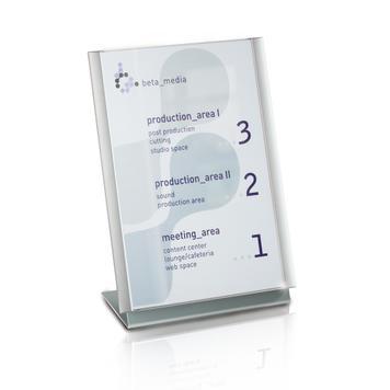 Επιτραπέζιο Σταντ Προβολής (L- Αλουμινίου)