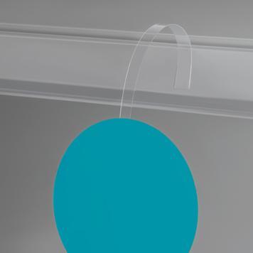 Ταλαντευόμενο Στήριγμα,  PVC - Διαφανές