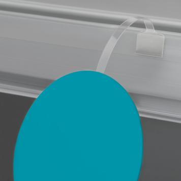 Ταλαντευόμενο Στήριγμα, PVC - Διαφανές, 75 χιλ.