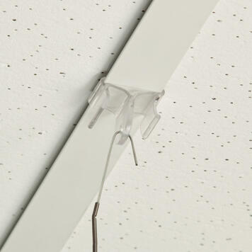 Πλαστικό Κλιπ Οροφής - Άγκιστρο Ανάρτησης 90°
