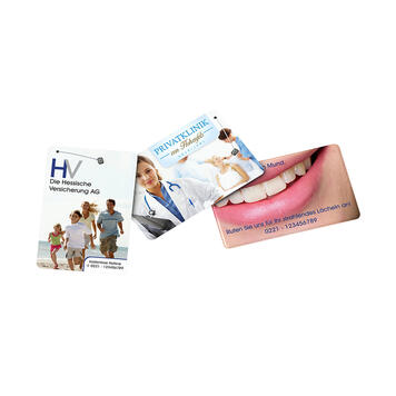 dentOcard® Οδοντικό Νήμα σε Διαφημιστική Κάρτα