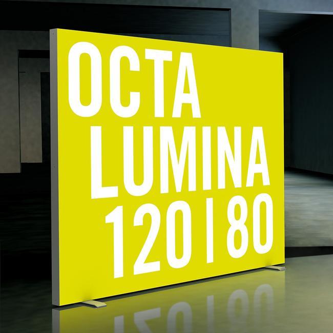 """Φωτιζόμενο Πάνελ LED """"Octalumina 120"""" Αυτοστήρικτο"""