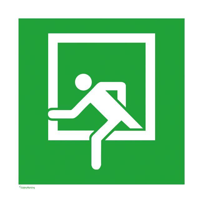 Πινακίδα Διάσωσης - Έξοδος Διαφυγής