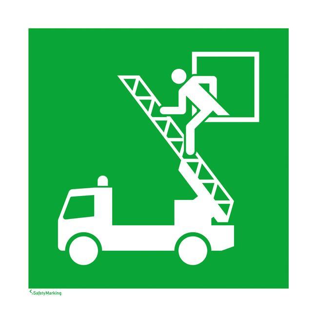 Πινακίδα Διάσωσης - Έξοδος Κινδύνου