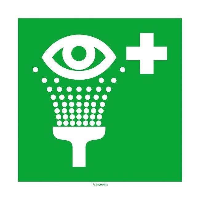 Πινακίδα Διάσωσης - Πλύση Ματιών