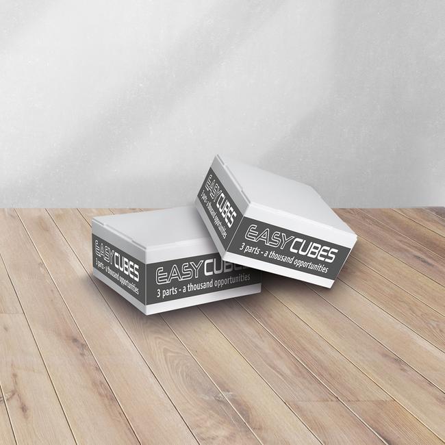 """Αυτοκόλλητη Μεμβράνη για EasyCubes """"Cube"""""""