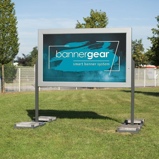Πινακίδα LED Εξω. Χώρου bannergear™, 2 Όψεων