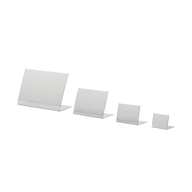 """""""L"""" Σταντ PVC, Α6 έως Α8, σε Κάθετη και Οριζόντια Διάταξη"""
