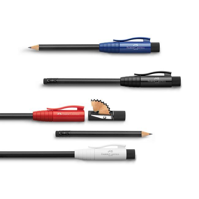 """Το """"Τέλειο Μολύβι"""" της Faber Castell, με Ενσωματωμένη Ξύστρα και Γόμα"""