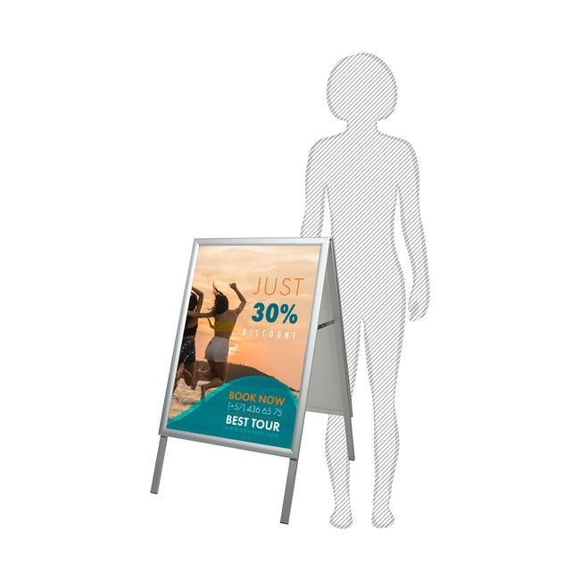 """Αδιάβροχο Σταντ για Αφίσες & Poster """"Eco 35"""""""
