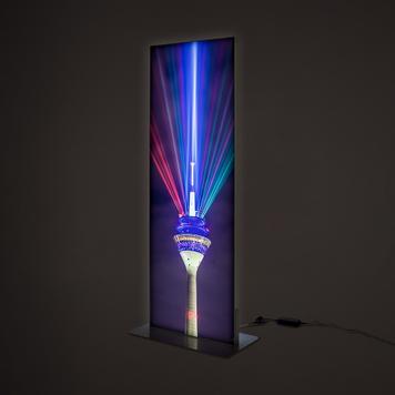 Στήλη Frameless Πλαισίου LED - Διπλής Όψεως
