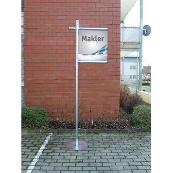 """Πλαίσιο Banner Ατσάλινου Συστήματος """"Broker"""""""