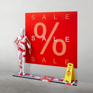 "Stretchframe Κορνίζα ""Sale"""