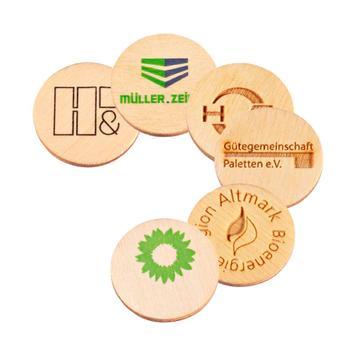"""Κέρμα για Καρότσι Σούπερ Μάρκετ """"Green Coin"""","""