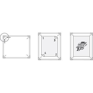 Tension Frame Αλουμινίου