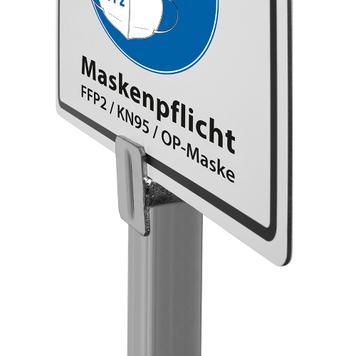 Σταντ Πληροφοριών Φοράτε Μάσκα! FFP2, KN95
