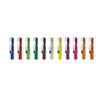 """Στυλό """"SKY διαφανές M"""" με Επιχρωμιωμένο Μεταλλικό Κλιπ"""