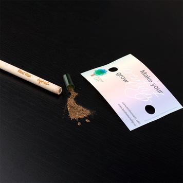 """Μολύβια """"Sprout"""", με Διαφημιστική Κάρτα"""