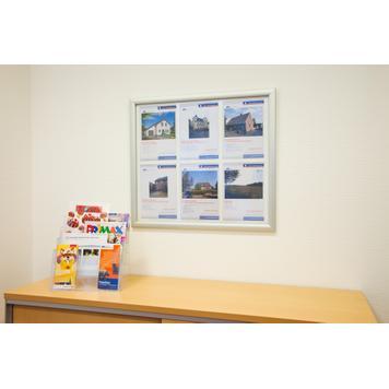 """Αδιάβροχο Stand Πεζοδρομίου """"Broker"""", για Αφίσες 4x A4 / 6x A4"""