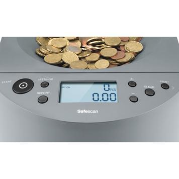 """Μετρητής και Ταξινομητής Κερμάτων """"Safescan 1450"""""""