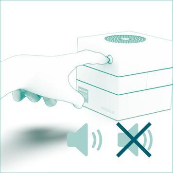 """Συσκευή Μέτρησης CO2 """"Air2Color"""" με Φωτεινή Ενδειξη"""