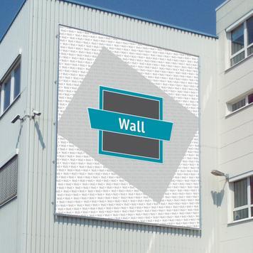 """Πλαίσιο Banner Αλουμινίου """"Wall"""""""