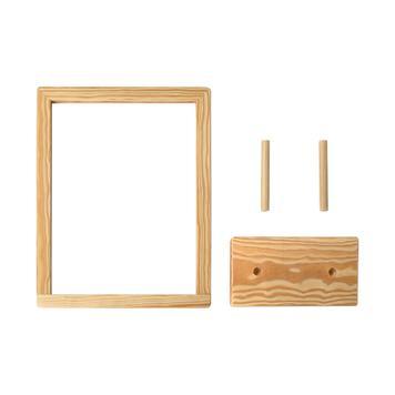 """Επιτραπέζιο Πλάισιο Μηνυμάτων  """"Kavero-Wood"""""""