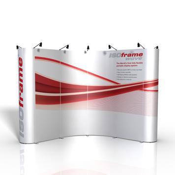 "Banner Σταντ ""ISOframe"""