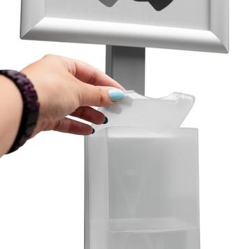 """Σταντ Απολύμανσης Χεριών """"Sensor-Steel"""""""