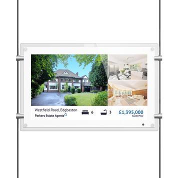 Οθόνη Digital Signage Window ROD Display